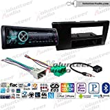 Sony GS MEX-GS620BT Single Din Radio Install Kit With CD Player, USB/AUX Fits 2001-2004 Volvo S60