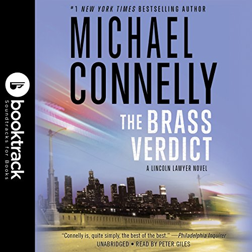 The Brass Verdict audiobook cover art