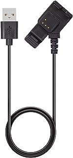 Luoshan Cable de Datos de Carga de la cámara Universal for Garmin VIRB XE GPS/X GPS (Negro)