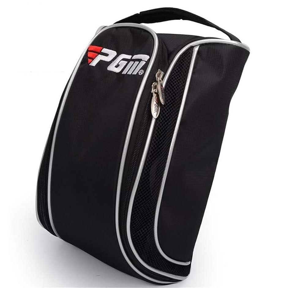 目的しなければならない奇跡的なゴルフシューズバッグ通気性10リットル容量ポータブル一般品質防水ナイロン