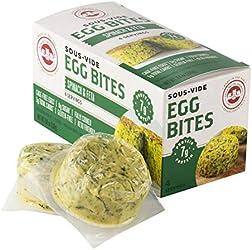 Les Trois Petits Cochons 4 Pack Egg Bite With Spinach & Feta, 8.4 Oz
