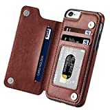 Iphone 6 Wallet Case,iphone 6s Case with Card Holder,Aprilday iPhone 6 Case Impact