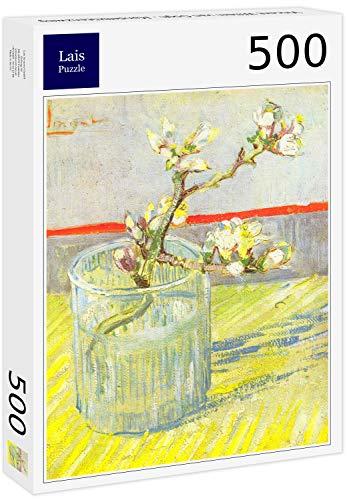 Lais Puzzle Vincent Willem Van Gogh - Ramo di mandorlo in Fiore 500 Pezzi