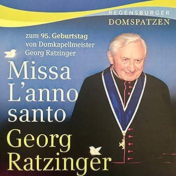 Ratzinger: Missa L'anno santo