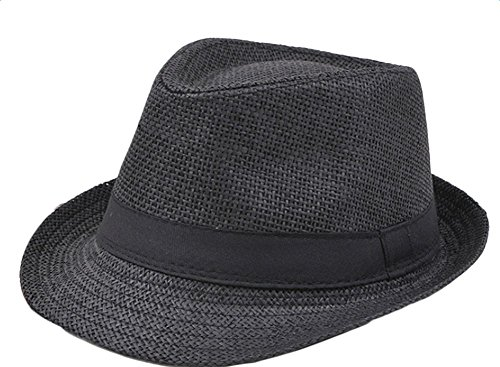 kentop Panama sombrero fedora sombrero mujer hombre Panama sombrero plegable sombrero de...