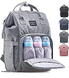 e6b5b5455aa4 KiddyCare Diaper Backpack Review. The KiddyCare Diaper Bag Backpack is our  choice for the Best ...