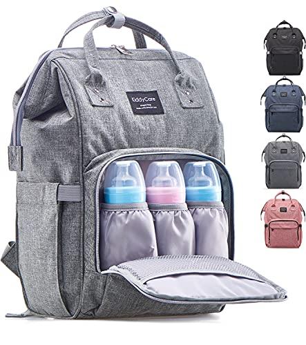 KiddyCare Diaper Bag Backpack – Multi-Function Baby Bag, Maternity...