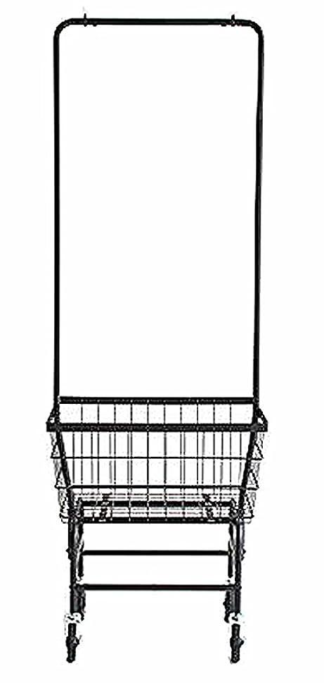 見ました宿るうつ市場 アンセム カートハンガー スチール ブラック ANH-2738BK[2個口]