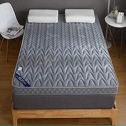 PLOLLD Memory-Foam-matratze Topper,Tatami Pillowtop 10cm Latex Hohe Elastizität Atmungsaktive Schlafsaal Student Hotel Matratze Schlafen Sleeping Mat Schlafen Pad