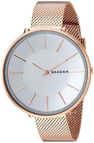 Skagen Damen Analog Quarz Uhr mit Edelstahl Armband SKW2726
