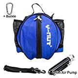 Y-Nut Basketball Shoulder Carrying Bag with Mini Air Pump (Multiple Color Option) (Pink)