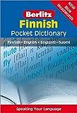 Berlitz Pocket Dictionary Finnish: Finnish-English /English-Finnish (Berlitz Pocket Dictionaries) - unbekannt