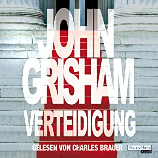 Verteidigung                   By:                                                                                                                                 John Grisham                               Narrated by:                                                                                                                                 Charles Brauer                      Length: 7 hrs and 24 mins     Not rated yet     Overall 0.0