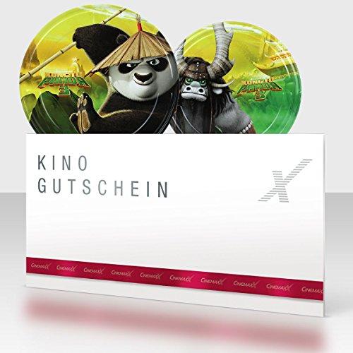 CinemaxX KungFu Panda Group Filmdose mit 1 Kinogutschein