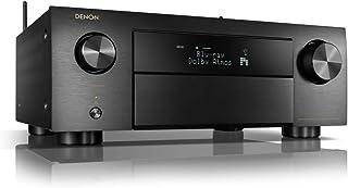 デノン Denon AVR-X4700H 8K Ultra HD I MAX Enhanced 、 Auro 3D 対応9 .2ch プレミアム AV サラウンドレシーバー/ブラック AVR-X4700HK