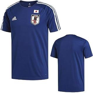 adidas アディダス サッカー日本代表 ホーム用ユニフォームレプリカ 半袖 Tシャツ L(172-178cm) 国内正規品 DTQ75 ナイトブルー