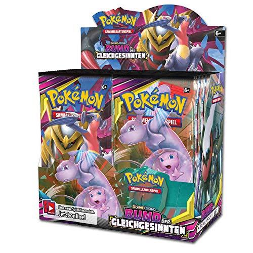 Pokemon - Bund der Gleichgesinnten - Booster / Display | DEUTSCH | Sammelkartenspiel TCG, Booster:36er (Display)
