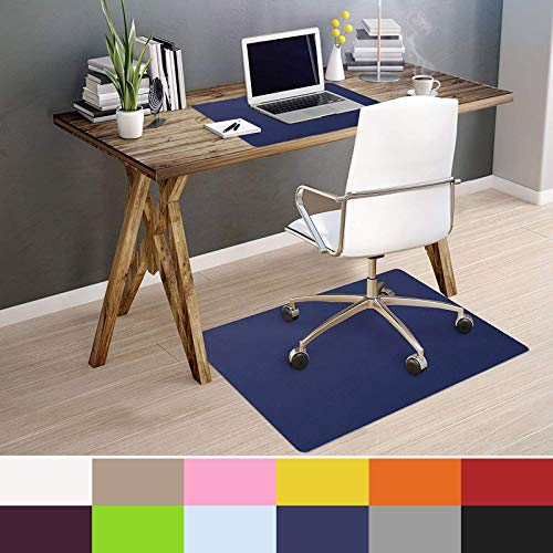 OfficeMarshal Alfombra Color Silla - Alfombrilla Protectora