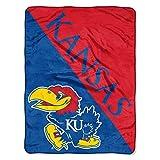 The Northwest Company Kansas Jayhawks 'Halftone' Micro Raschel Throw Blanket, 46' x 60' , Blue