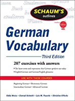 Schaum's Outline of German Vocabulary (Schaum's Outlines)