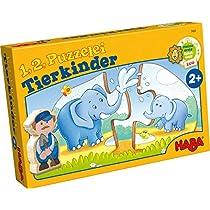 Haba-7466-1-2-puzzlealos--Crias-de-Animales-puzle-Infantil-Multicolor-7466