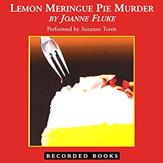 Lemon Meringue Pie Murder audiobook cover art