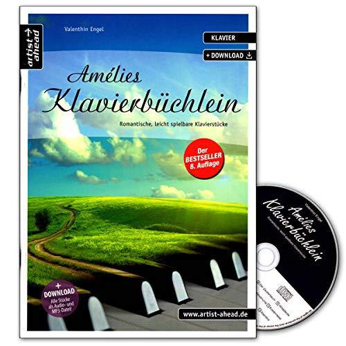 Amelies Klavierbuechlein - arrangiert für Klavier - mit CD [Noten / Sheetmusic] Komponist: ENGEL VALENTHIN