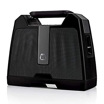 G-Project G-Boom Wireless Bluetooth Boombox Speaker Rugged Portable Speaker with Rechargeable Battery  Black