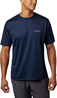Men's Meeker Peak Short Sleeve Wicking UPF 15 Crew Shirt