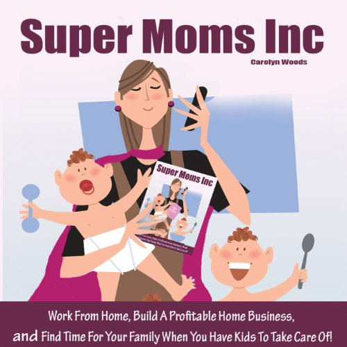 Super Moms, Inc. audiobook cover art