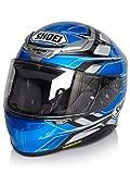 Shoei Helm NXR Rumpus , TC-2 blau-grau-schwarz, M