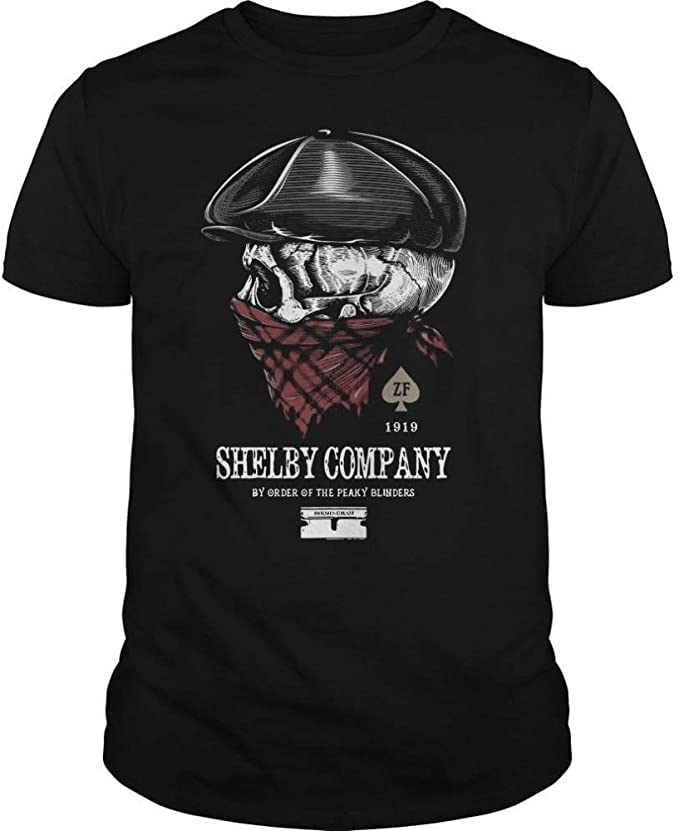 Shelby Company by Order of The Peaky Blinders Design Men Brand In Fashion Cotton Printed T Shirts Cool tee