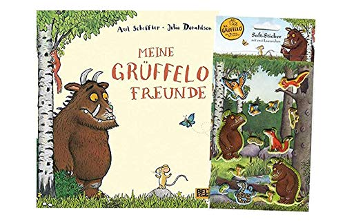 Beltz & Gelberg Meine Grüffelo-Freunde (Gebundenes Buch) + Grüffelo Sticker
