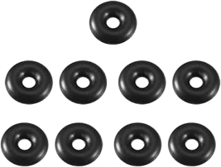 Pack of 25 M1x14 Viton O-Ring Viton Round 75A Durometer 14 mm ID Black 16 mm OD 1 mm Width