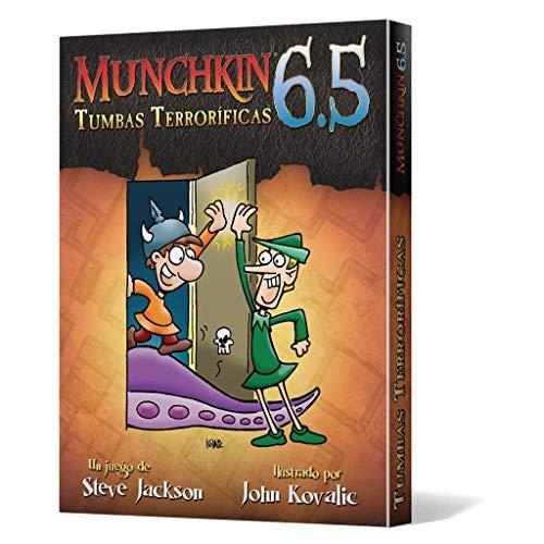 Edge Entertainment- Munchkin 6.5: Tumbas Terroríficas, Color (EESJMU84)