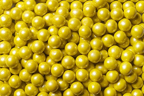 Sixlets Shimmer Yellow 2lb