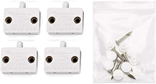 4pcs Gufastore White Cabinet Lamp Switch Wardrobe Touch Switches Drawers Open on Close Door