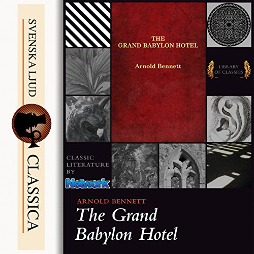 The Grand Babylon Hotel audiobook cover art