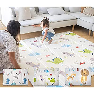 Easy Mat Extra Large Foldable Kids Play Mat Din...
