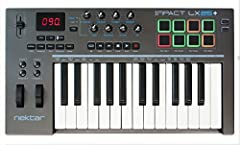 Premium midi controller with 25 expressive synth-action keys, on-board pitch bend and modulation wheels for performances 8 Hyper-Sensitive backlit pads Mac, PC and iOS compatible Software instruments automatically mapped to controls Includes Bitwig 8...