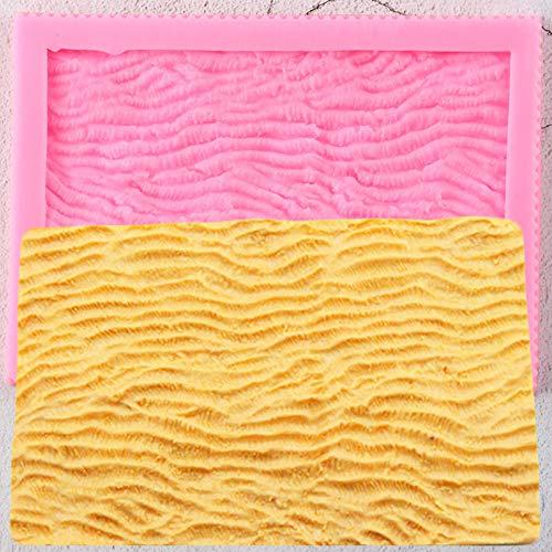 UNIYA Molde de Encaje de Silicona con Borde de Pastel de Coral Marino, decoración para Cupcakes de Boda DIY, Herramientas de decoración de tortas con Fondant,moldes deChocolate y Caramelo