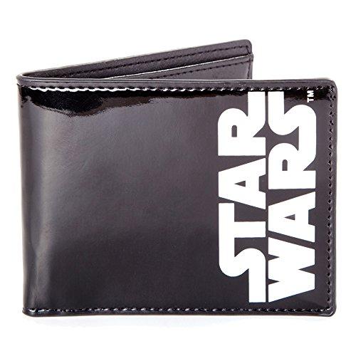 Star Wars Portefeuille Porte Monnaie Logo 12 cm Noir