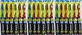 Reach Crystal Clean Toothbrush, Firm, Assorted Colors (Pack of 18)
