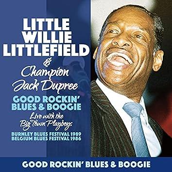 Little Willie Littlefield & The Big Town Playboys-Good Rockin' Blues & Boogie