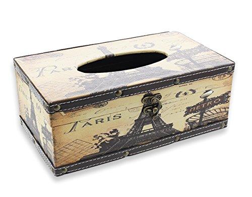 Le Juvo Taschentuchbox, rechteckig, Motiv Paris