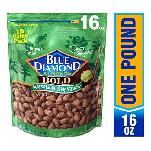 Blue Diamond Almonds Wasabi & Soy Sauce Flavor