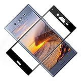 TOIYIOC Verre Trempé Sony Xperia XZ1 [2 Pièces], 3D Incurvé Couverture Complète Film Protection...