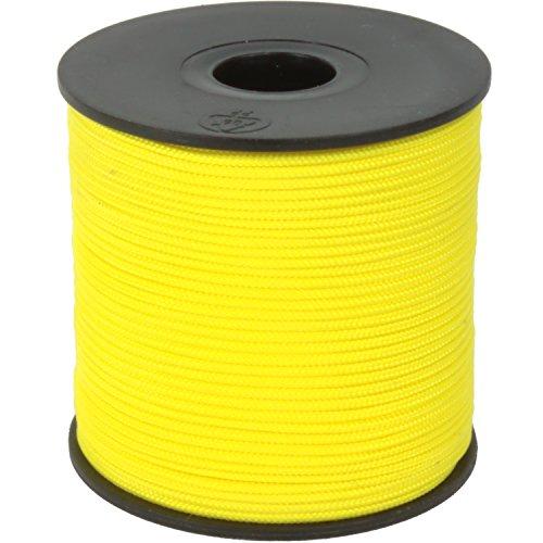 100m Maurerschnur 3mm Schnur Leine 120kg gelb Polypropylen PP Lot Richtschnur Fliesenschnur