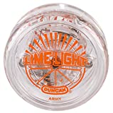 Duncan Toys Limelight LED Light-Up Yo-Yo, Beginner Level Yo-Yo with LED Light, Orange