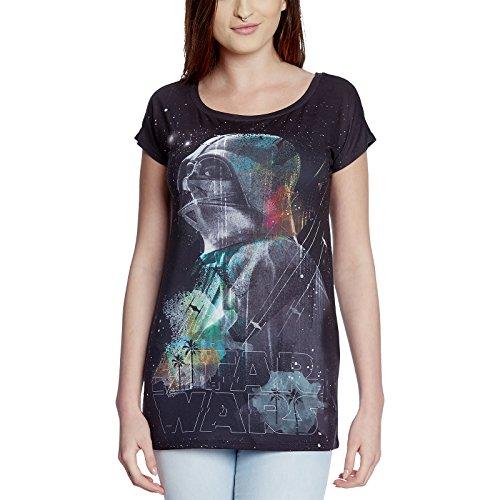 Camiseta de chica Star Wars Rogue One Darth Vader Knight de Elbenwald negro - S